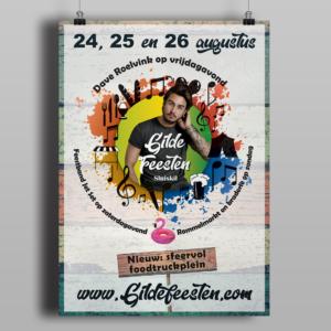 poster Gildefeesten
