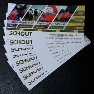 Schout-uitnodigingskaart