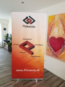 Roll-up banner Procezza