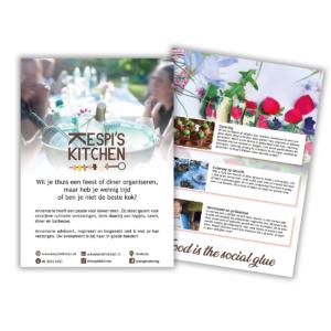 Flyer Kespi's Kitchen